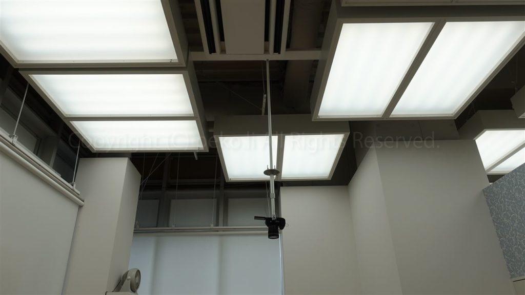 スタジオ1_天井照明