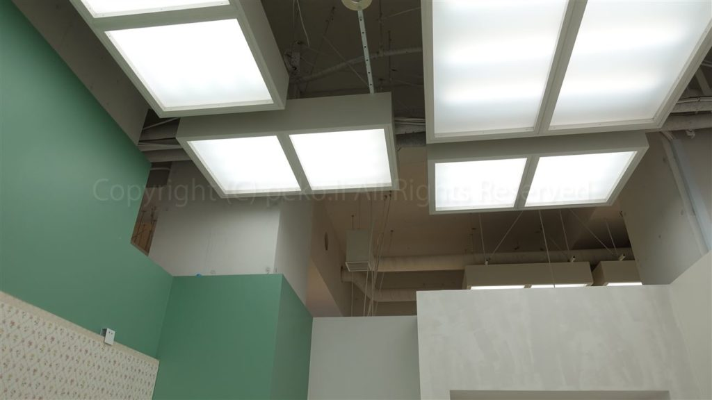 スタジオ2_天井照明